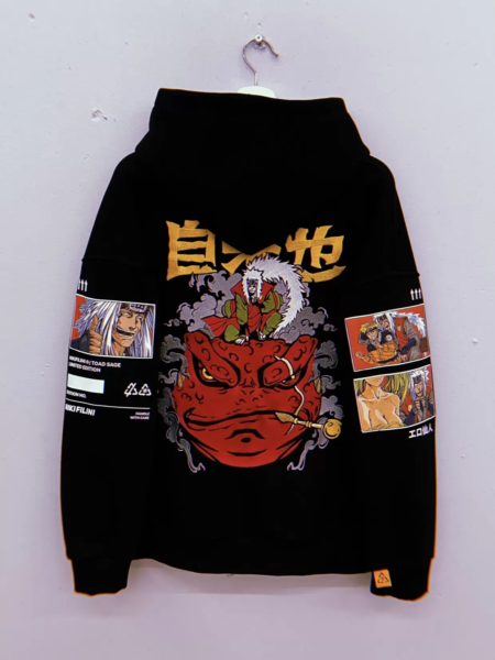 HOODIE EMBROIDERED «TOAD SAGE»